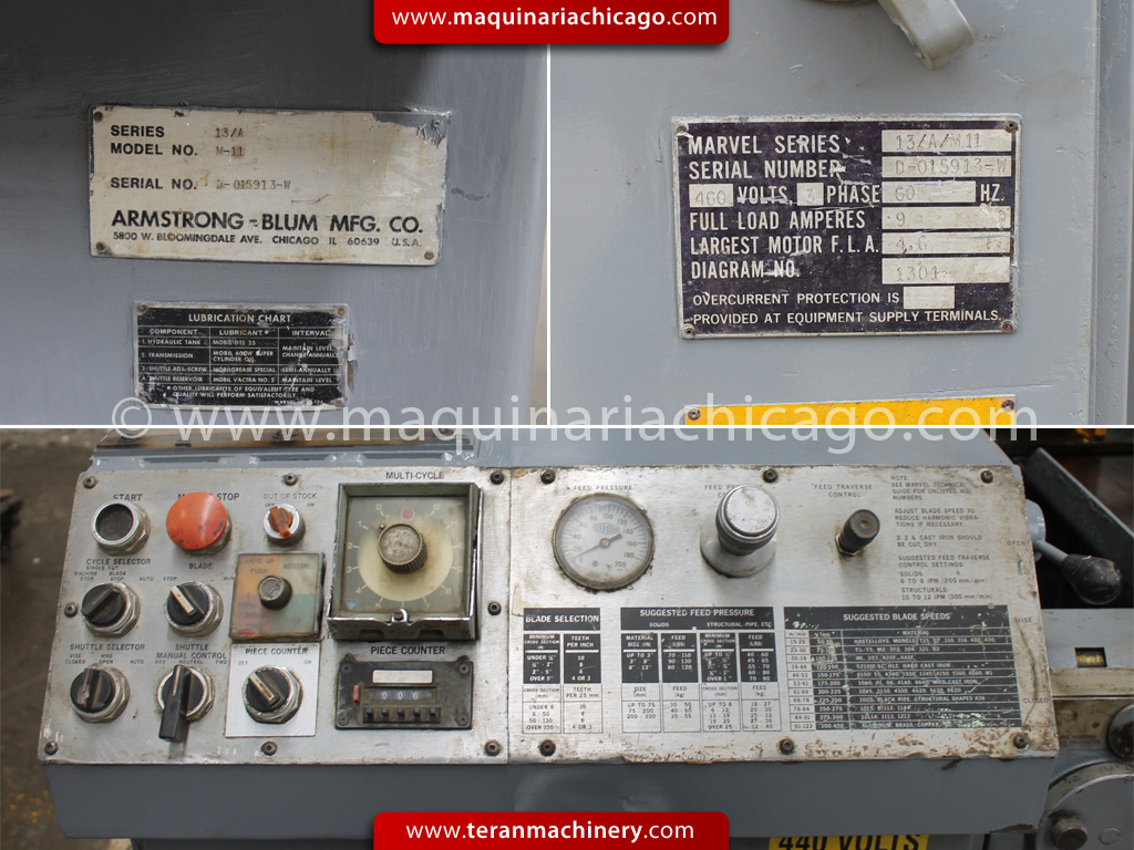 Marvel Saw Manual C230 Challenger Circuit Breaker New Used And Obsolete Array Sierras Metalworking Machinery Teran Inc Rh Maquinariachicago Com